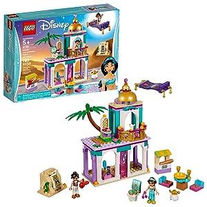 LEGO Disney Aladdin and Jasmine's Palace Adventures 41161 Building Kit, New 2019 (193 Pieces)