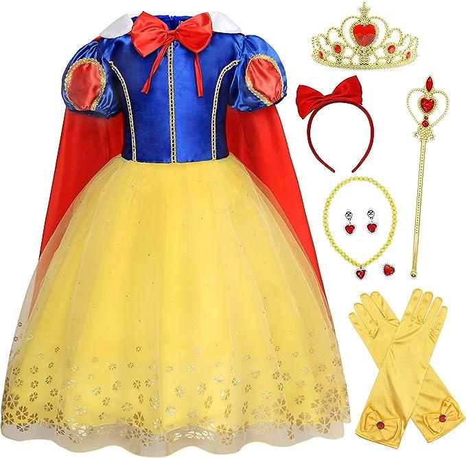 Amazon.com: HenzWorld - Disfraz de princesa para fiesta de ...