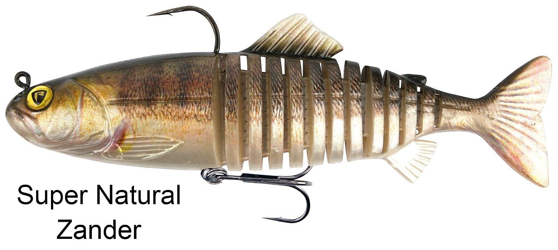 Fox Rage Replicant Join Ted–Swimbait Wobbler à pêche, Hecht Leurre pour pêche en Spin Caoutchouc Wobbler pour Hecht Pêche
