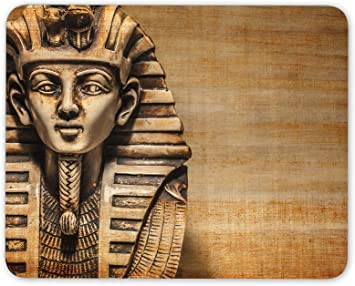 Egipto Tutankamón Busto tesoro de oro tapete de ratones Cojín: Amazon.es: Electrónica