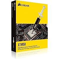 Corsair XTM50 - CPU/GPU Pasta térmica (De alto Rendimiento, Impedancia Térmica Ultra-baja, Base de óxido Zinc Premium…