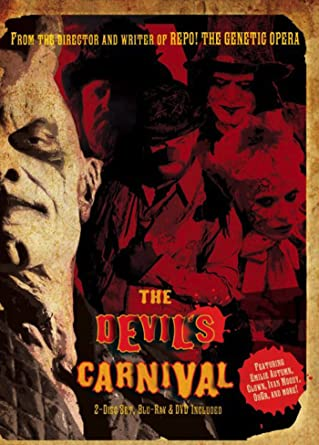 amazon com the devil s carnival dvd blu ray sean patrick