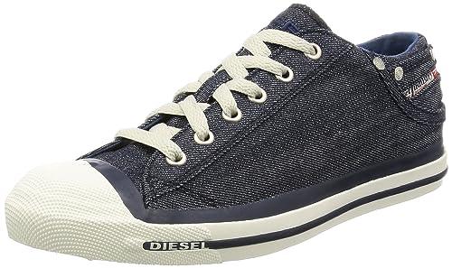 71ff0ab8aaa399 Diesel Exposure Low, Men's Low-Top Low-Top Sneakers, Blue, 7 UK ...