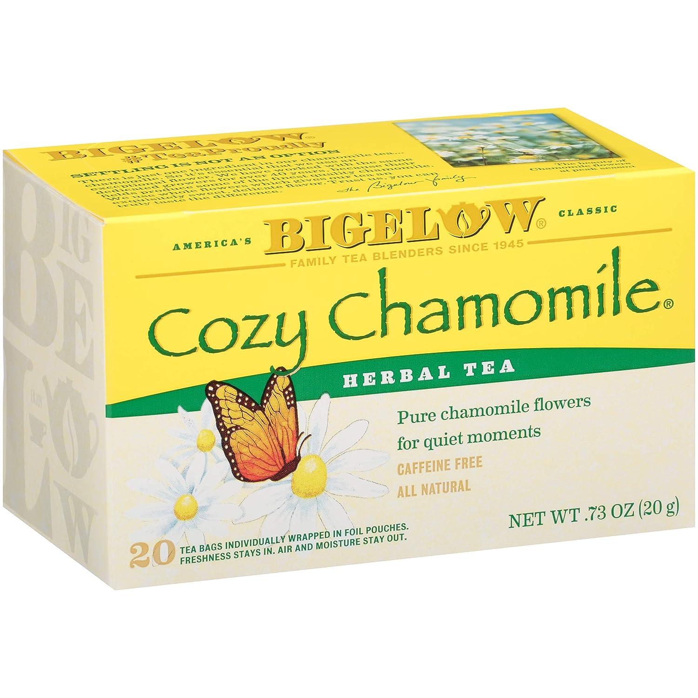 Bigelow, Cozy Chamomile Tea (Caffeine Free), 20 Count : Grocery & Gourmet Food