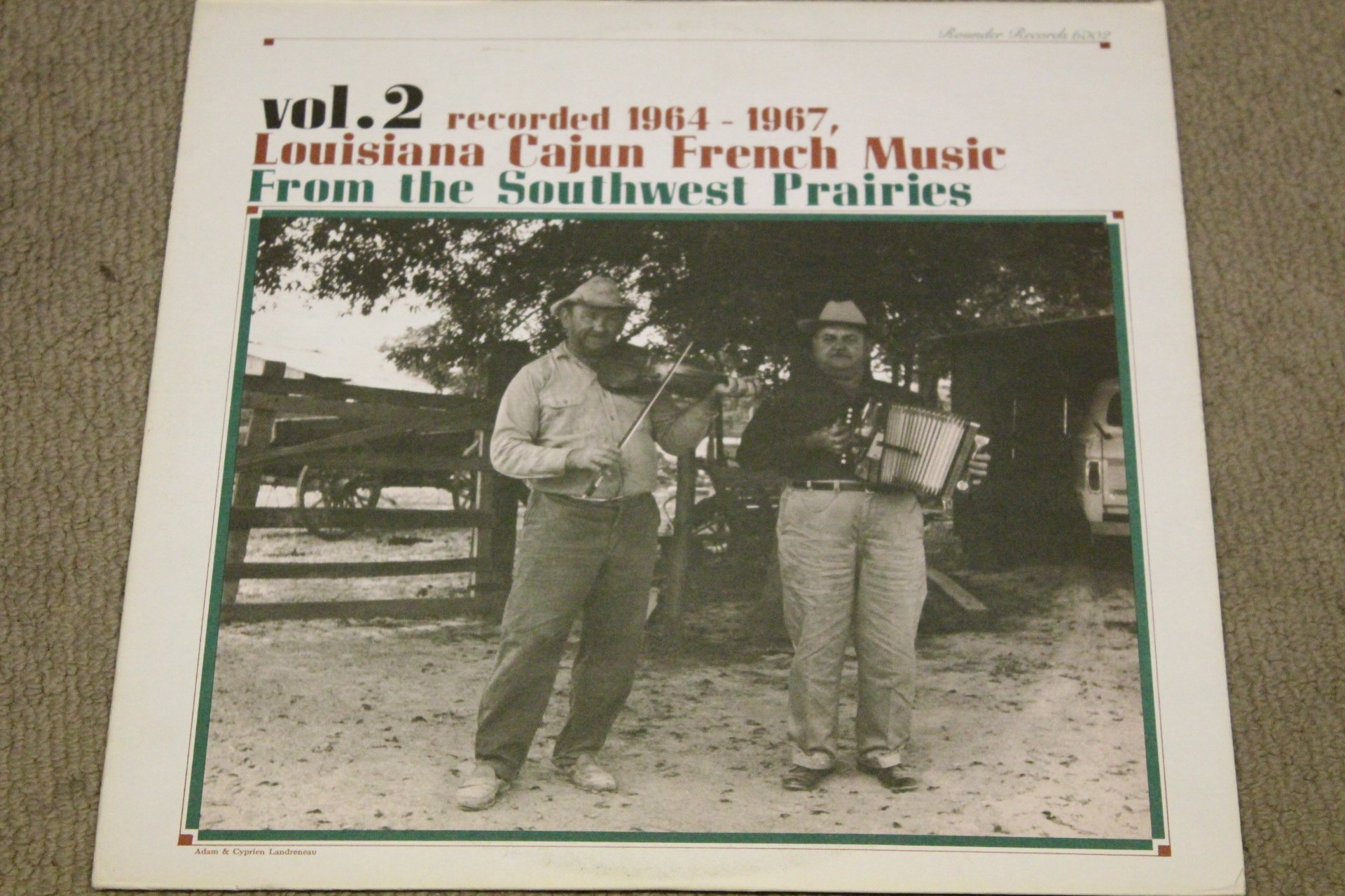 Louisiana Cajun French Music, Vol. 2: Southwest Prairies, 1964-1967 [Vinyl]