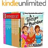 A Recipe For Murder: Cozy Mystery Complete Series 13 Book Box Set (A Turnbull, Mackenzie & Sharma Cozy Mystery 1)