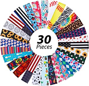 30 Pieces Ice Pop Holders Reusable Popsicle Holders Anti-freezing Popsicle Sleeves Popsicle Holder Bags, 30 Styles