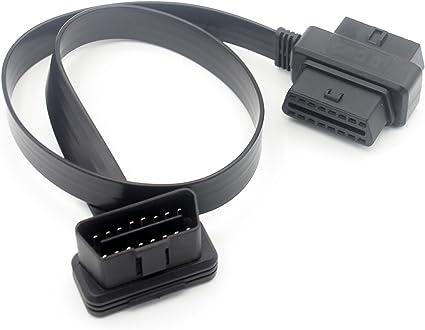 MISTER DIAGNOSTIC 16 pins OBD2 C/âble Extension Rallonge M/âle /à Femelle Diagnostique Adaptateur