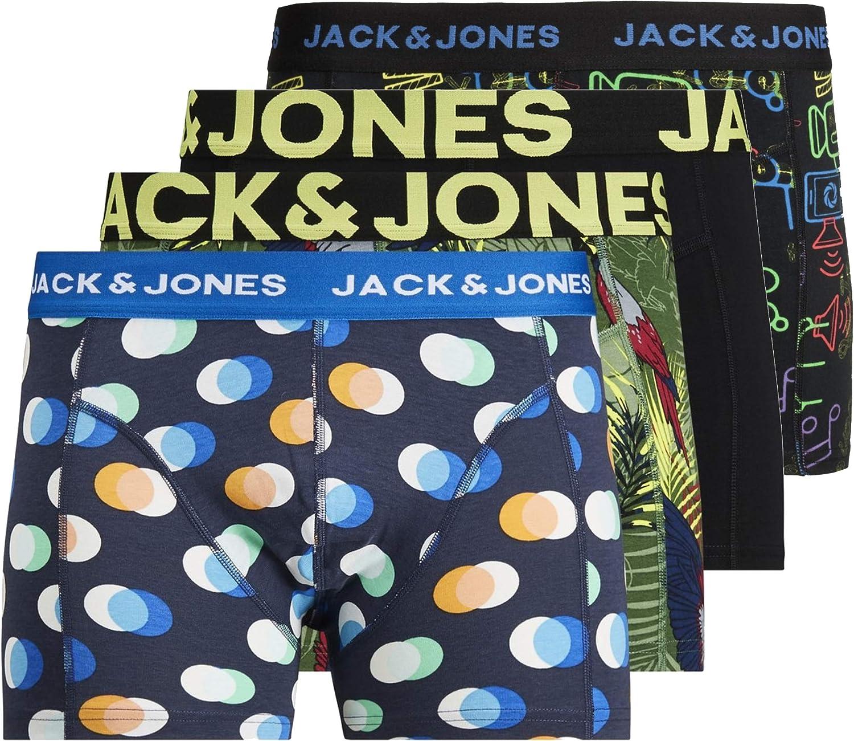 Jack & Jones Bóxer (Pack de 3) para Hombre: Amazon.es: Ropa y ...
