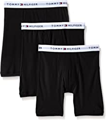Tommy Hilfiger Mens Underwear 3 Pack Cotton Classics Boxer Briefs