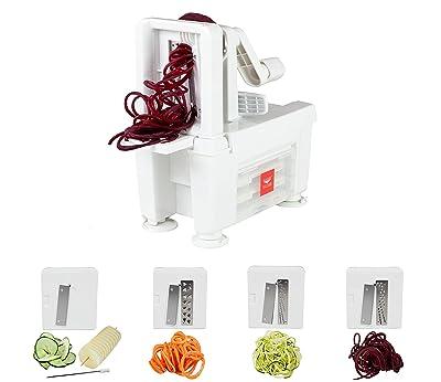 Paderno World Cuisine 4-Blade Folding Vegetable Slicer / Spiralizer Pro