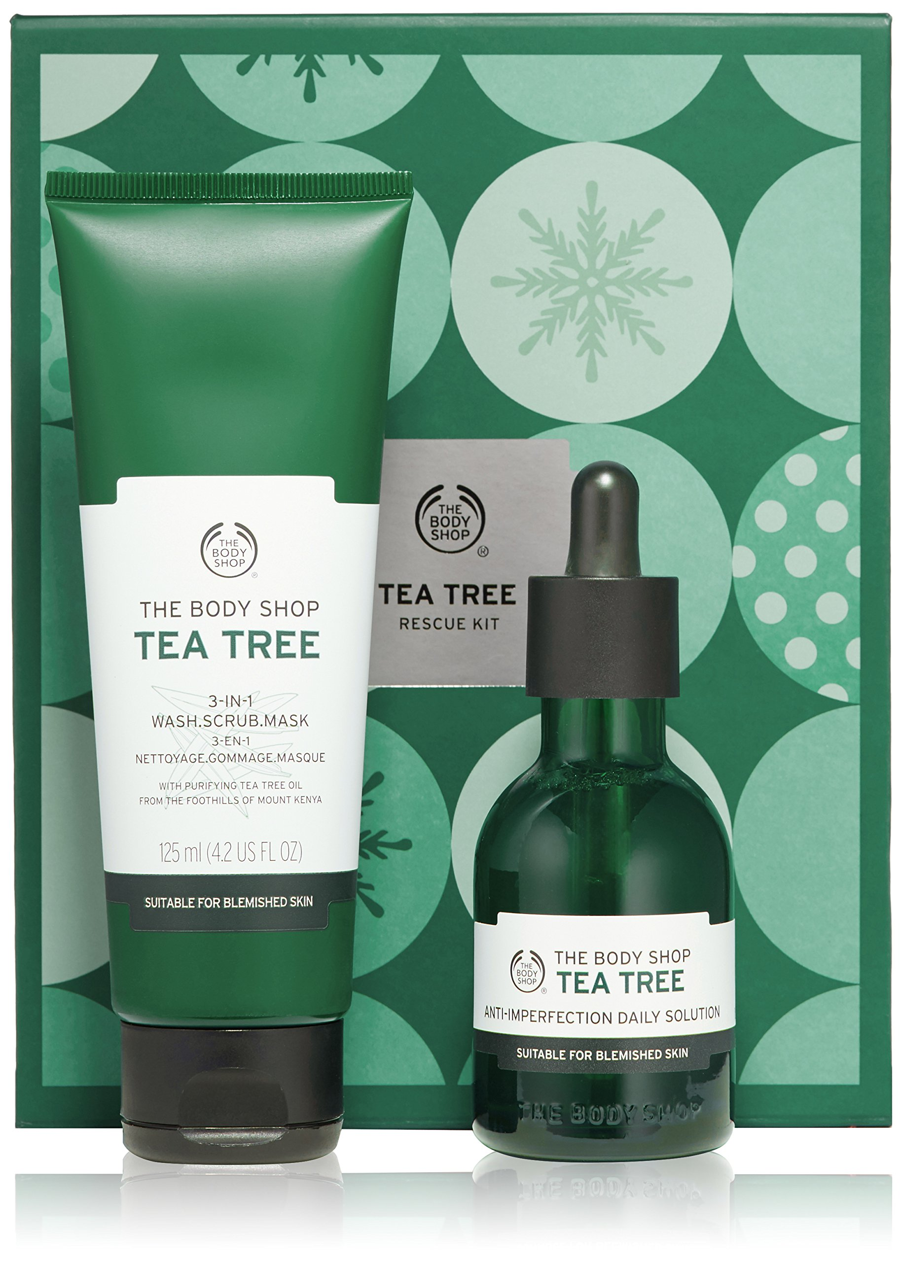 The Body Shop Tea Tree Rescue Kit Gift Set by The Body Shop (Image #1)