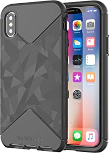 Tech21 Evo Tactical Case for iPhone X - Black