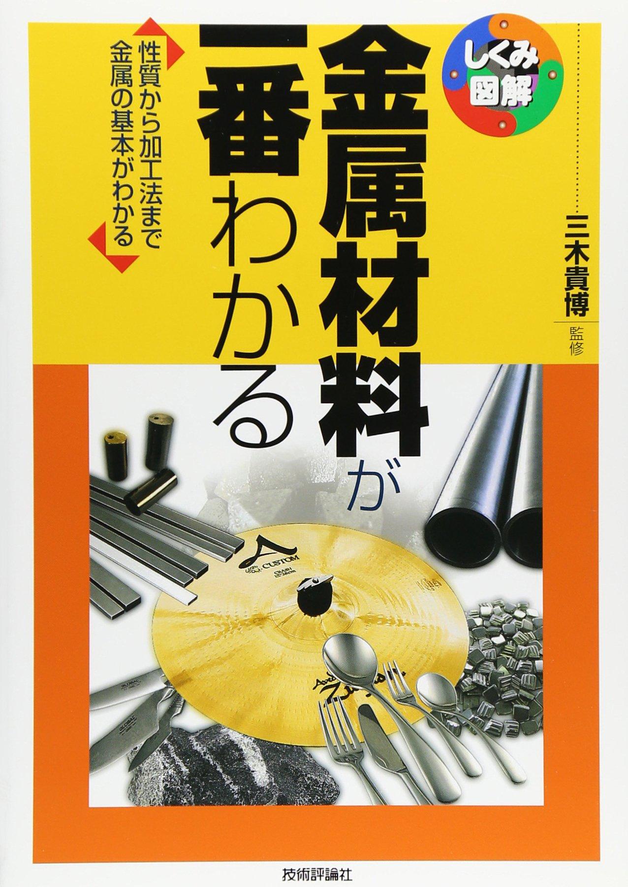 Kinzoku zairyo ga ichiban wakaru : Seishitsu kara kakoho made kinzoku no kihon ga wakaru. pdf