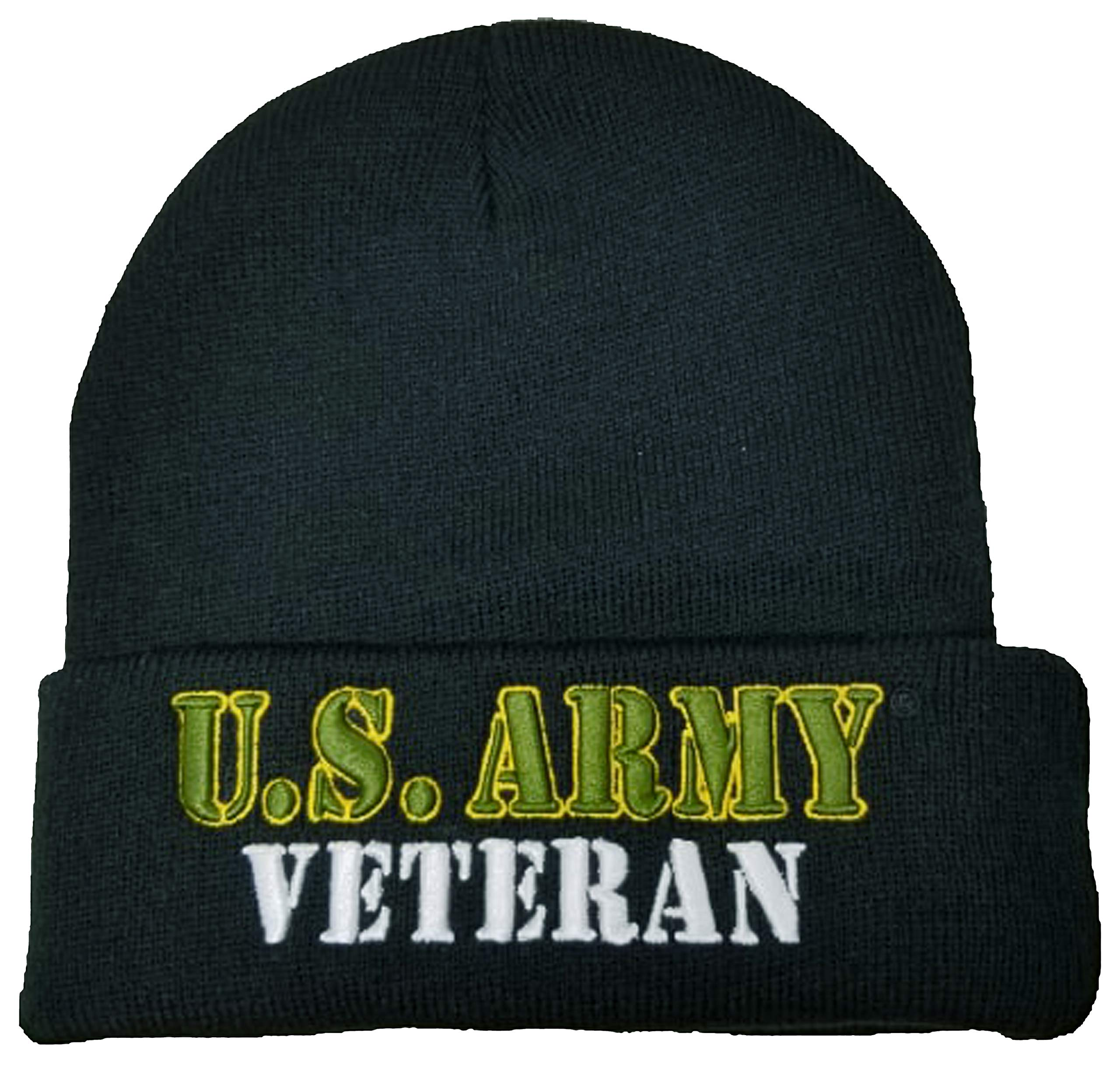 NEW US MILITARY DISABLED VIETNAM VETERAN BEANIE CAP HAT BLACK