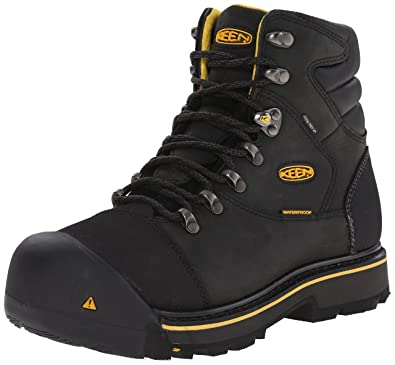Amazon.com | KEEN Utility Men's Milwaukee Wide Work Boot ...