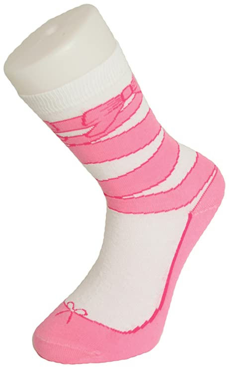 532022c738d Image Unavailable. Image not available for. Color  Silly Socks Ballet Shoe  Socks
