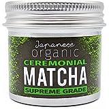 Revelation Organics™ Premium Organic Japanese Ceremonial Matcha Green Tea Powder - 25g - Direct from Uji, Kyoto, Japan