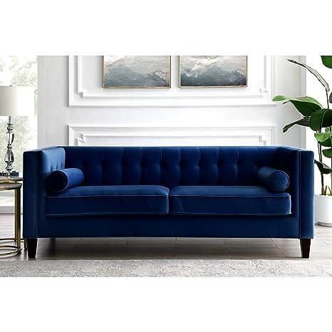 Amazon.com: Inspired Home Lotte - Sofá de pierna, cuadrado ...