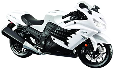 Amazon.com: Aoshima Skynet 04538 Kawasaki Ninja ZX-14R 1/12 ...