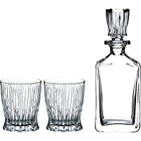 Riedel Fire Tumblers and Decanter, 2.64 kg, (Pack of 3)