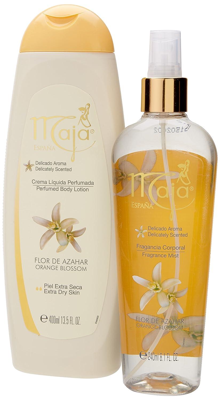 Amazon.com : MAJA SET AZAHAR SPLASH/CREMA : Beauty