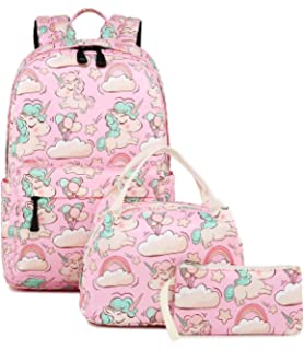 de883e1f25 Abshoo Cute Lightweight Unicorn Backpacks Girls School Bags Kids Bookbags
