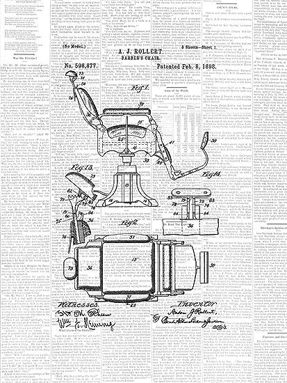 Amazon.com: Framable Patent Art the Original Ready to Frame Décor ...