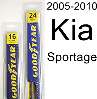 "product image for Kia Sportage (2005-2010) Wiper Blade Kit - Set Includes 24"" (Driver Side), 16"" (Passenger Side) (2 Blades Total)"