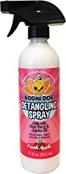 New All Natural Apple Detangling Spray   Remove Tangles While Dematting Dog and Cat Fur and Hair   Soothing Lotion with Conditioning Qualities - Made in USA - 1 Bottle 17oz (503ml)