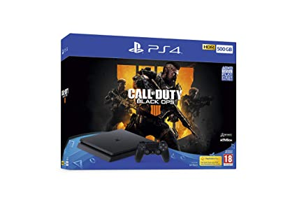 Call Of Duty Black Ops 4 500 Gb Bundle (Ps4) by Play Station