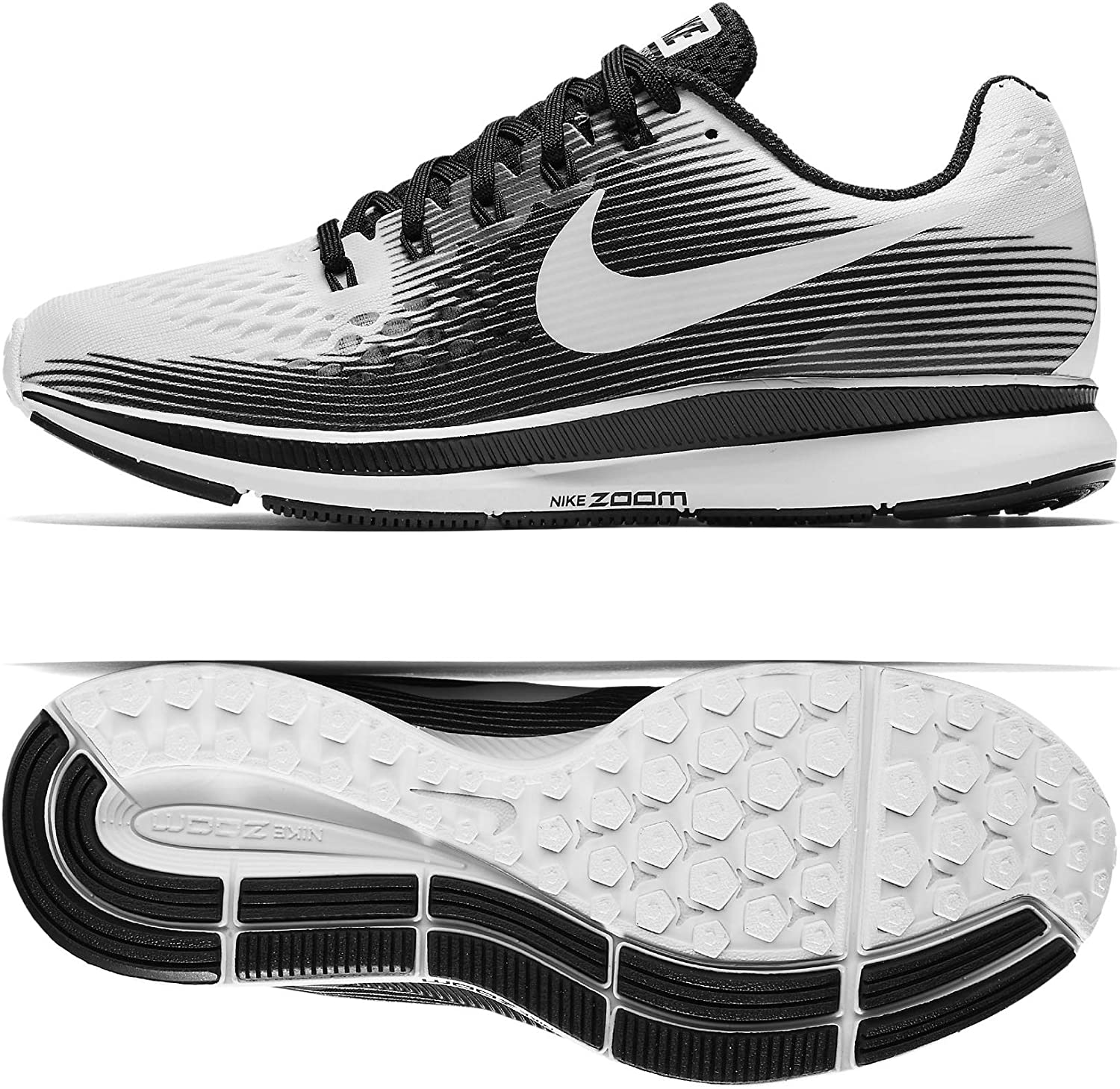 partito repubblicano Tirare generazione  Amazon.com | Nike Women's Air Zoom Pegasus 34 Running Shoe (9 B(M) US,  White/White-Black) | Road Running