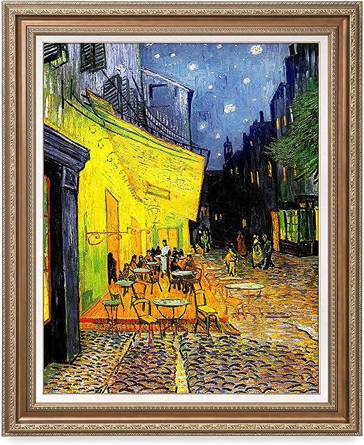 Van Gogh Cafe Terrace  Giclee Canvas Print