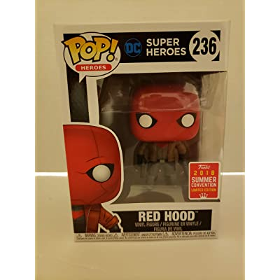 Funko Pop DC Super Heroes Red Hood SDCC Summer Convention Exclusive: Toys & Games