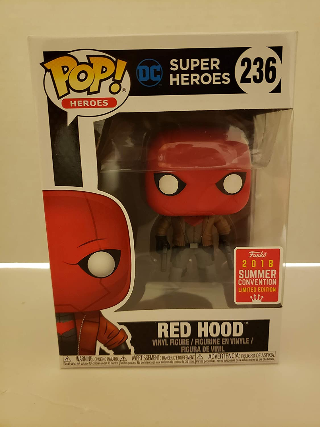 Funko Pop DC Super Heroes Red Hood SDCC Summer Convention Exclusive
