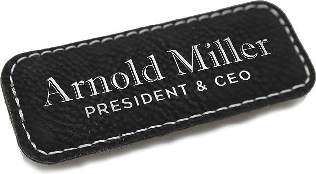 Custom Employee Name Tags Wooden Name Badge Custom Engraved Name Tag Badges Office Name Tag Work Name Tag Magnetic Name Tag