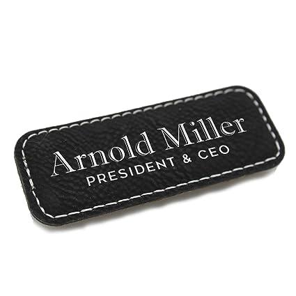 amazon com personalized name tag custom engraved employee badges