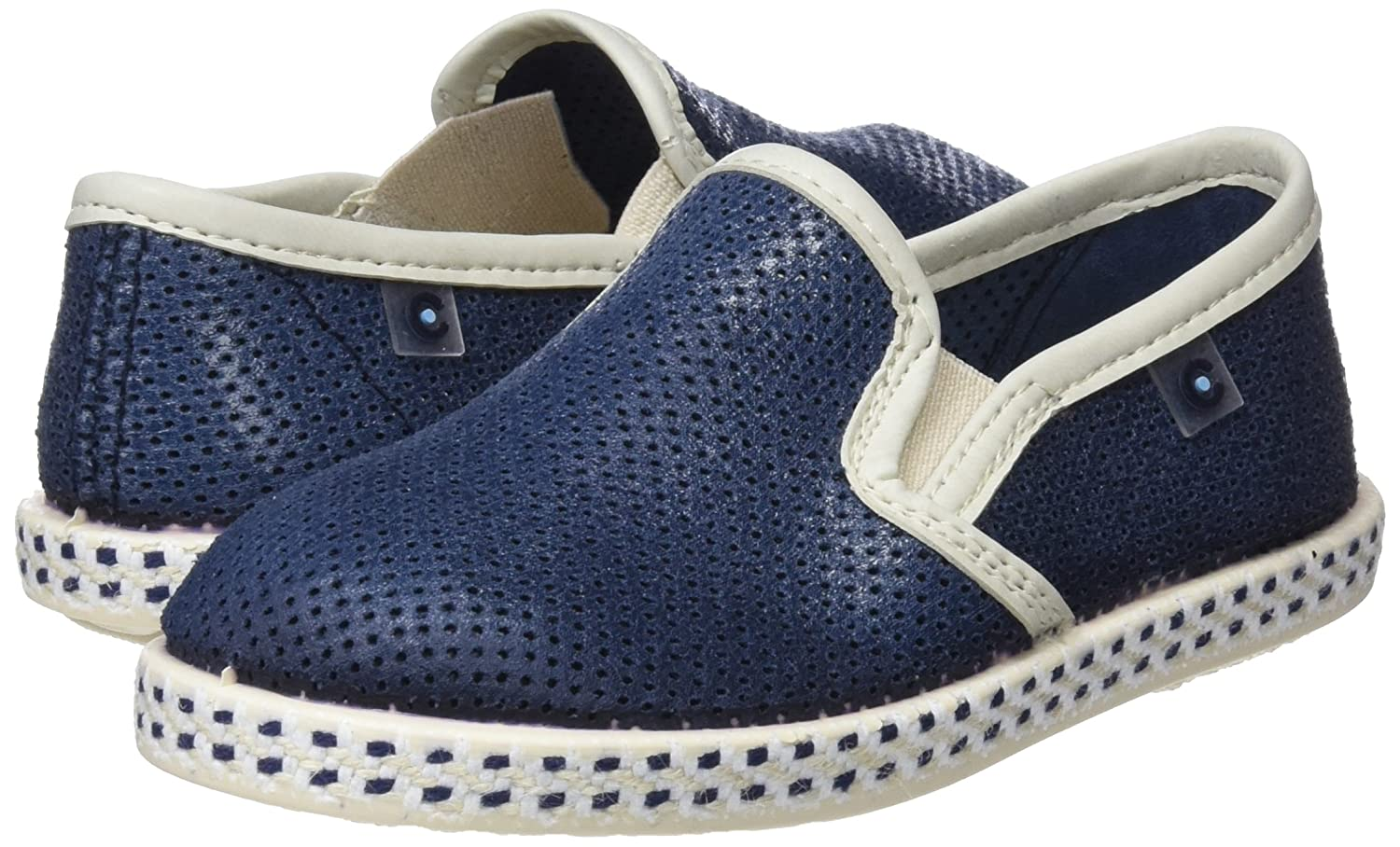 Amazon.com | Conguitos Boys Yute Espadrilles, Blue (Blue 58), 11UK Child | Slippers
