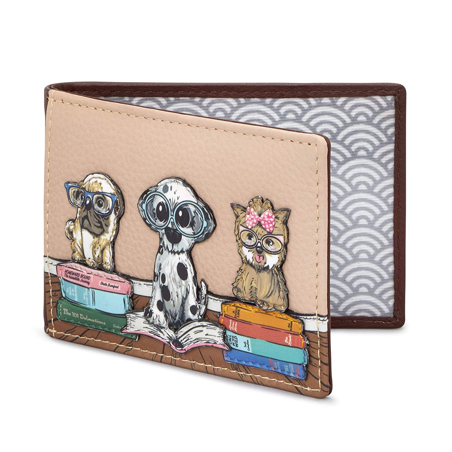 Bookhound Gang Leather Travel Pass Holder by Yoshi