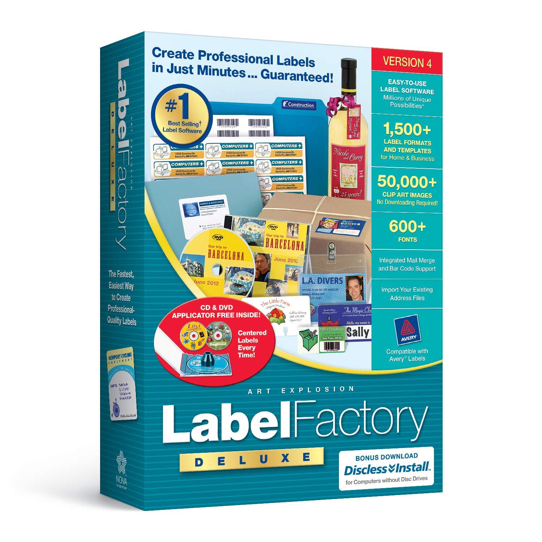 Label Factory Deluxe 4.0 by Nova Development US