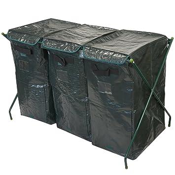 300L Garden Tacho de basura de residuos orgánicos respetuoso con el medio ambiente conversor de Compost