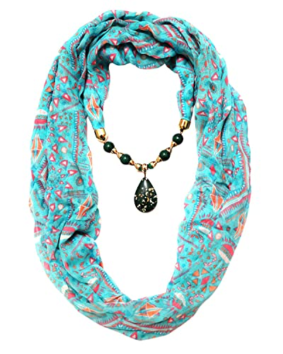 Buy scarf necklace california green necklace scarf pendant scarf scarf necklace california green necklace scarf pendant scarf stole wrap muffler scarves order now quot aloadofball Gallery