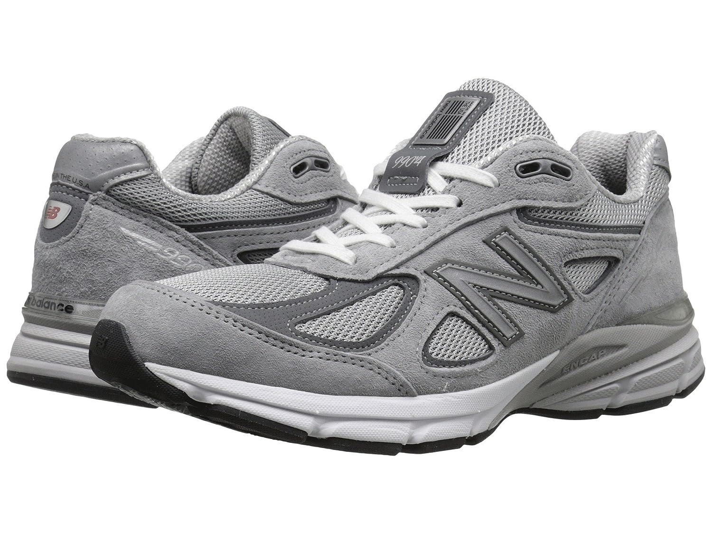 (ニューバランス) New Balance メンズランニングシューズスニーカー靴 M990V4 Grey/Castlerock 12.5 (30.5cm) B - Narrow B07BQJXG49