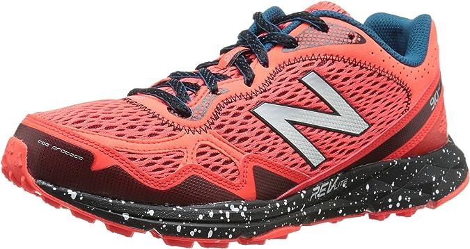 New Balance MT910 D V2 - Zapatillas de Deporte de Piel y Sintético para Hombre Naranja Orange (ob2 Orange/Black) 43 EU: Amazon.es: Zapatos y complementos