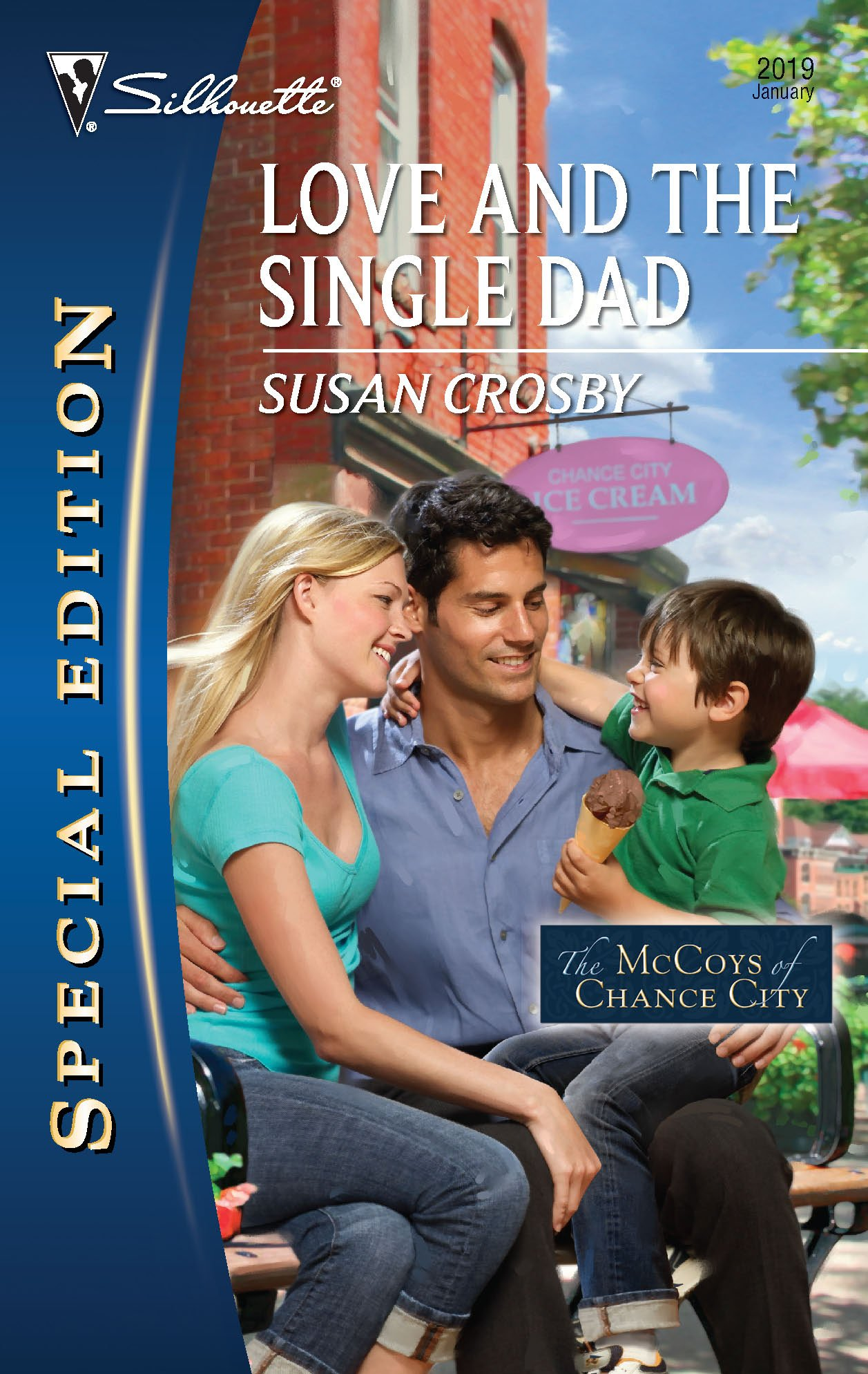 Love and the Single Dad (Silhouette Special Edition, No. 2019 / The McCoys of Chance City) ebook