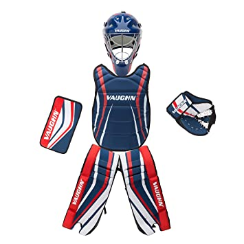 Vaughn Goalie Box Set 24 Rg Navy Red Street Hockey Amazon Canada
