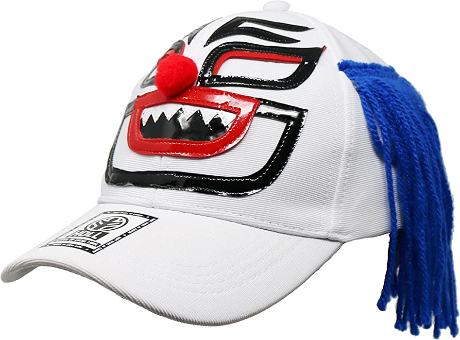 PAYASO Lucha Libre Adult Unisex Stretch Fit Hat Wrestling Cap