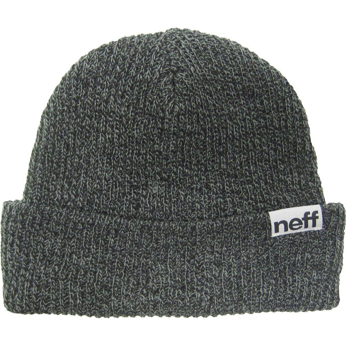 1412e257875 Amazon.com  Neff Mens Fold Heather Beanie Hat