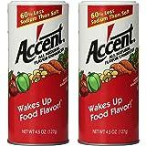 Accent Flavor Enhancer Shaker - 4.5 Oz. Each - 2 Pack