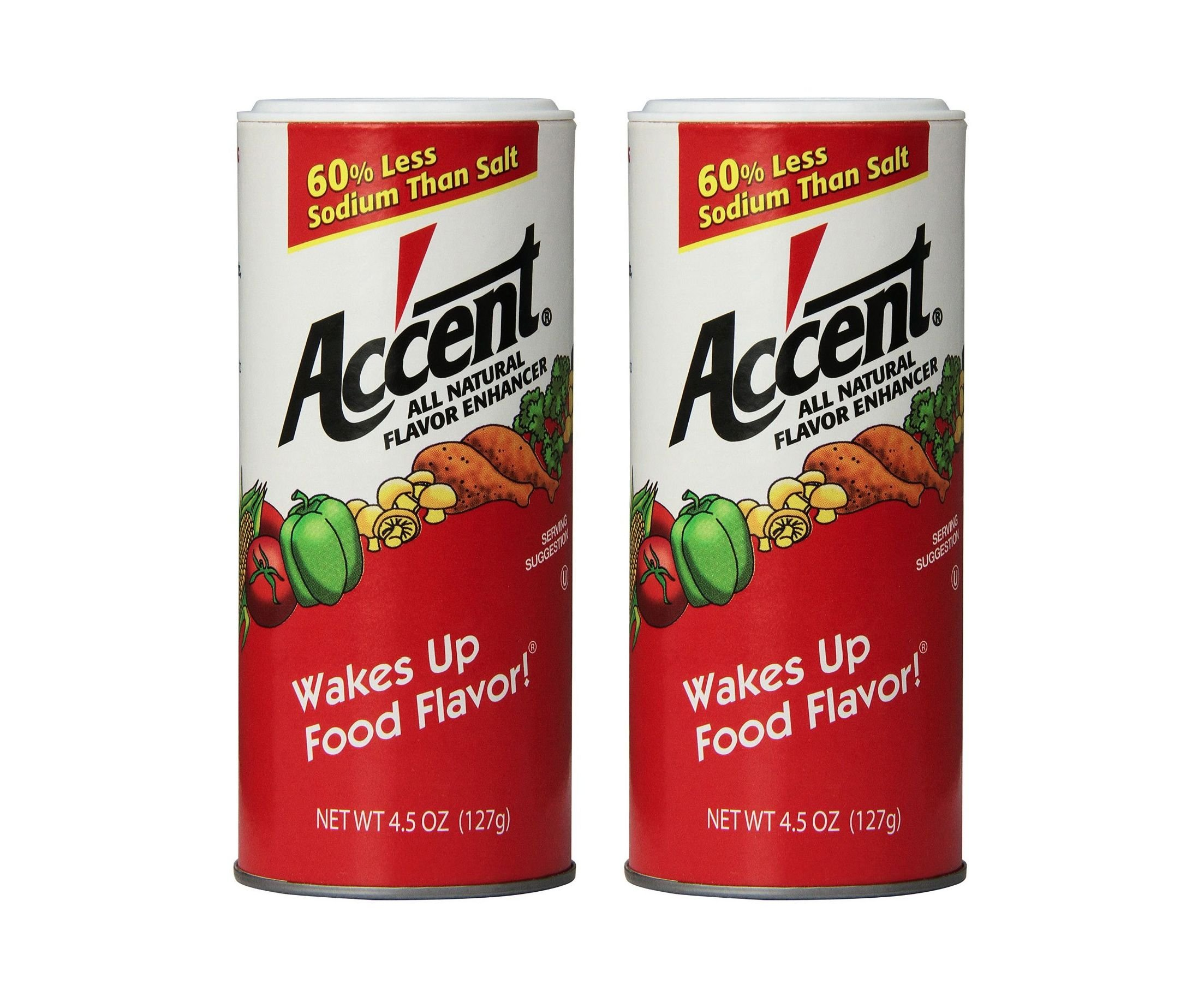 Accent Flavor Enhancer Shaker - 4.5 Oz. Each - 2 Pack by Accent